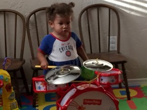 E the drummer