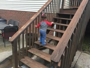 big girl stair climber