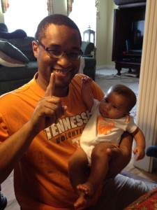 cheering on the vols for the first time (2)