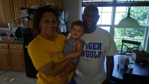 e with her grands