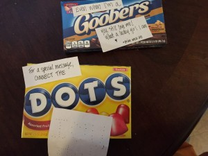 goobers and dots