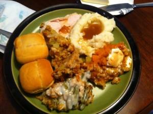 thanksgiving dinner 2014 - YUMMMY! (1)