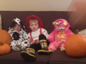 trick or treating crew