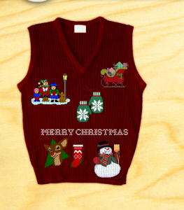 ugly christmas sweater 2013